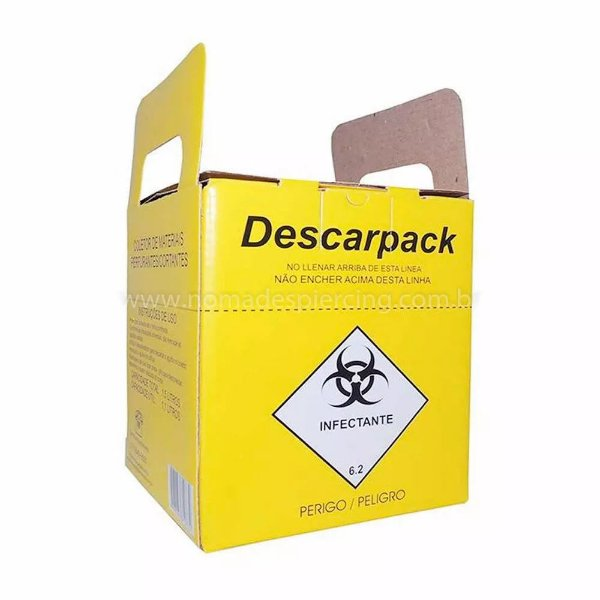 Caixa Coletora Descarpack 03 Litros