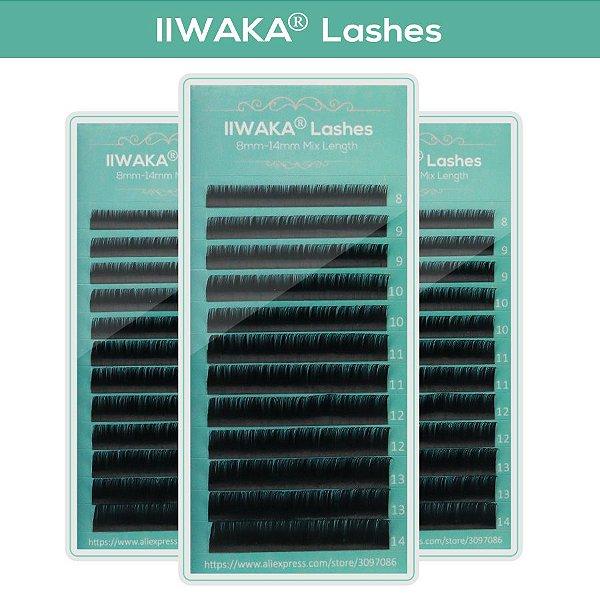 IIWAKA Cílios extensão 0.05MM C - MIX