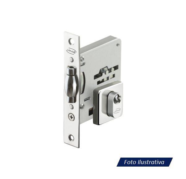 Fechadura Rolete IMAB Inox 2791 Para Porta Pivotante