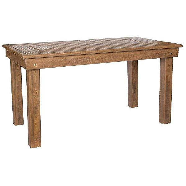 Mesa de Jantar 150x82cm Ipê  - Madeira Plástica