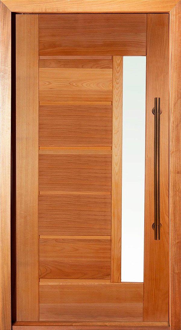 Kit Porta Pivotante em Tauari BBB com Visor - MAPAF