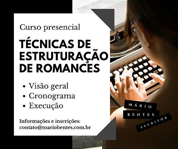 Curso presencial (Manaus): técnicas de estruturação de romances