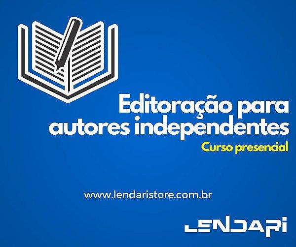 Editoração para autores independentes (curso presencial)