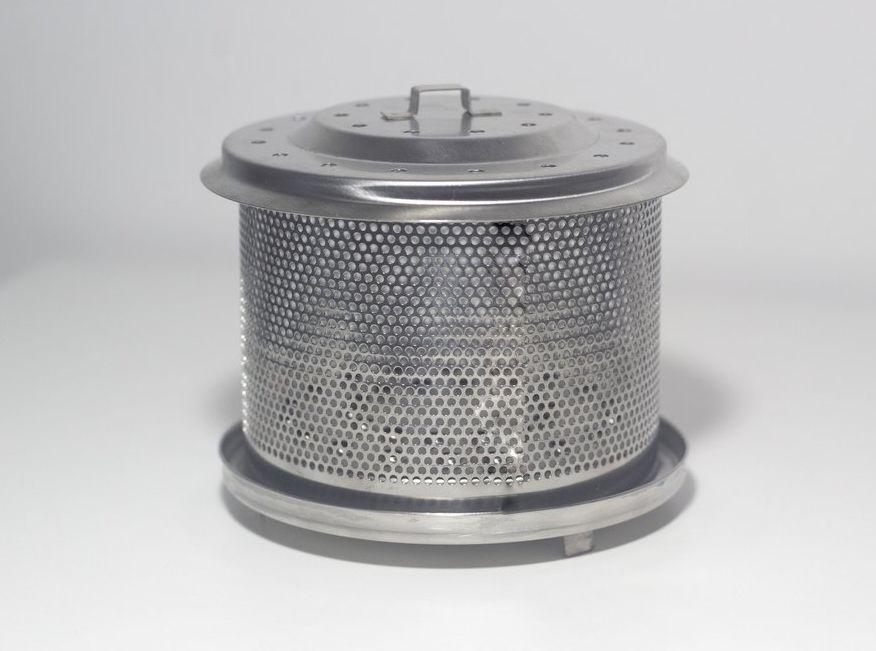Recipiente para carvão - churrasqueira portátil Fiss Koss 101 e 102 (foto ilustrativa)