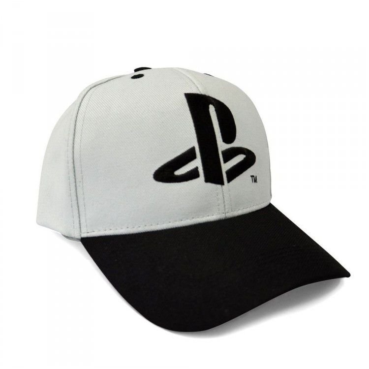 Boné Playstation - Logo Aba Curva
