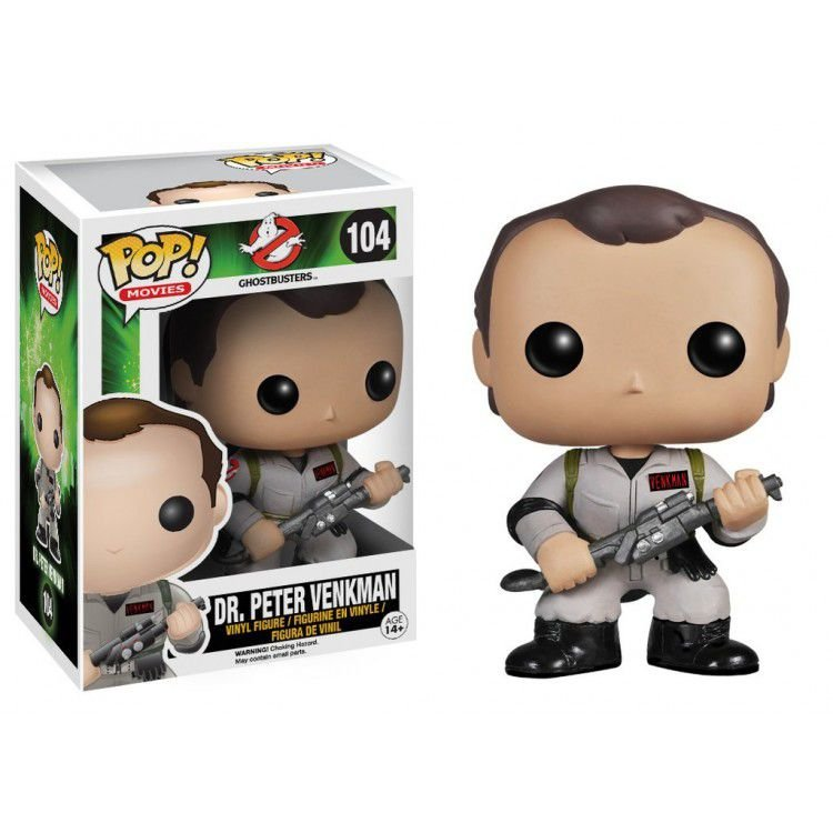Funko Pop Ghostbusters Dr. Peter Venkman