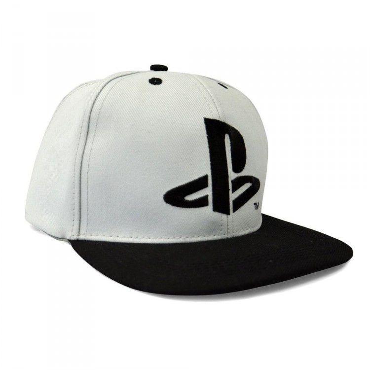 Boné Playstation - Logo Aba Reta