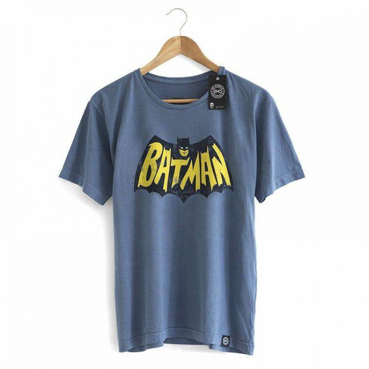 Camiseta Batman Vintage - Coleção Sheldon The Big Bang Theory