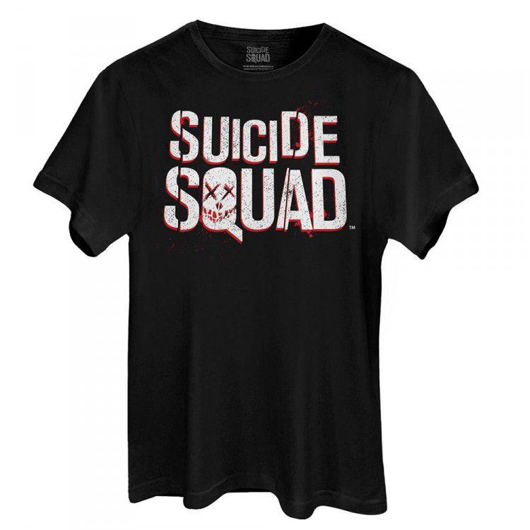 Camiseta DC Esquadrão Suicida - Logo