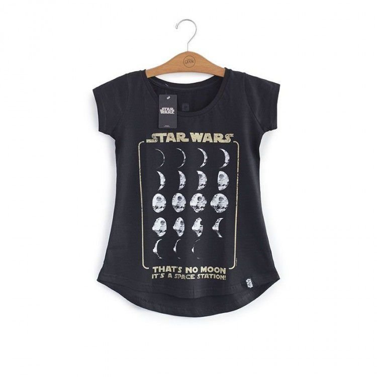 Camiseta Feminina Star Wars - Death Star