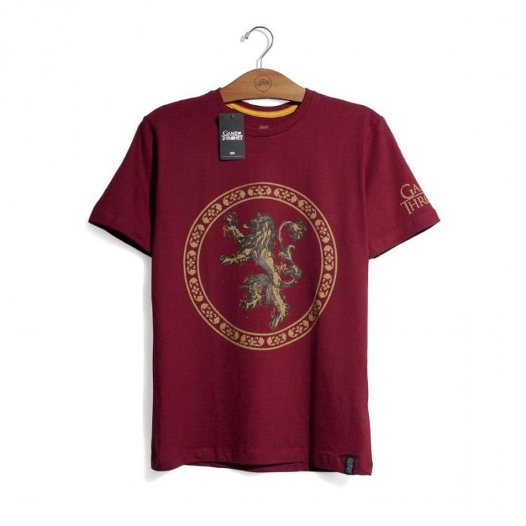 Camiseta Game of Thrones - Casa Lannister