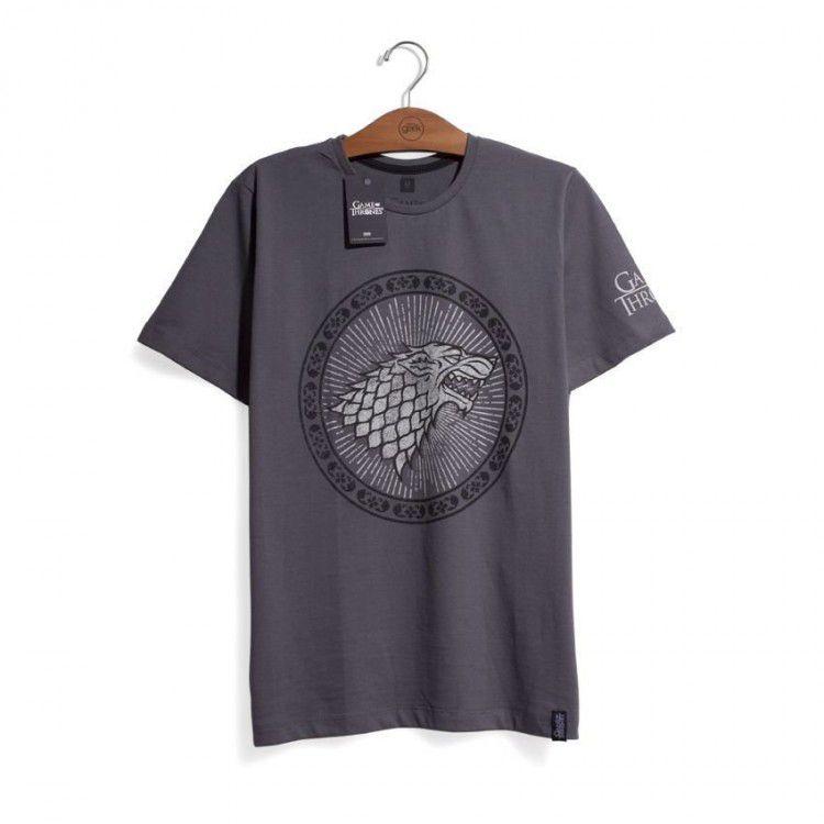 Camiseta Game of Thrones - Casa Stark