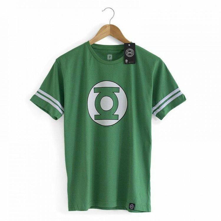 Camiseta Lanterna Verde - Coleção Sheldon The Big Bang Theory