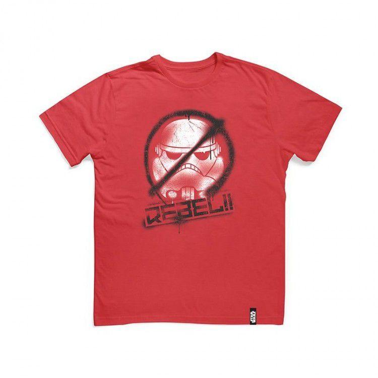 Camiseta Infantil Star Wars - Rebeldes