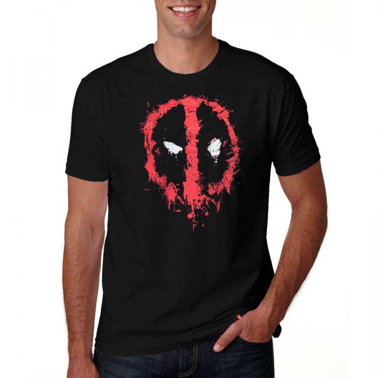 Camiseta Marvel Deadpool - Mask
