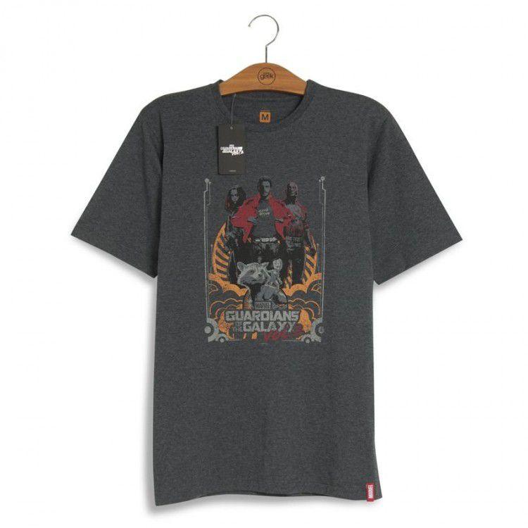 Camiseta Marvel Guardiões da Galáxia Vol. 2
