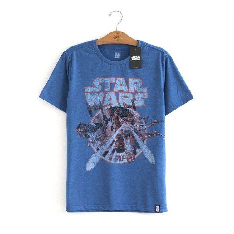 Camiseta Star Wars - Space Battle