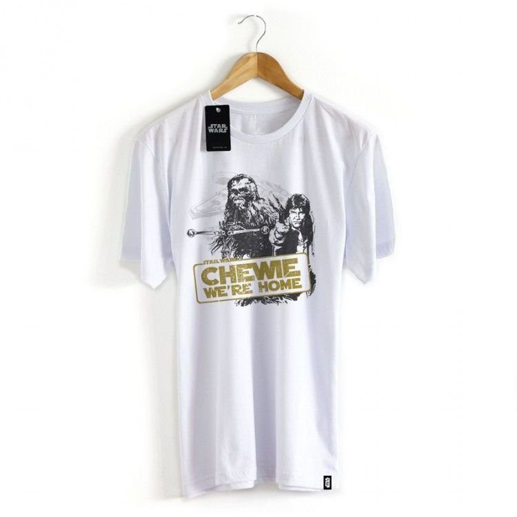 Camiseta Star Wars - Were Home