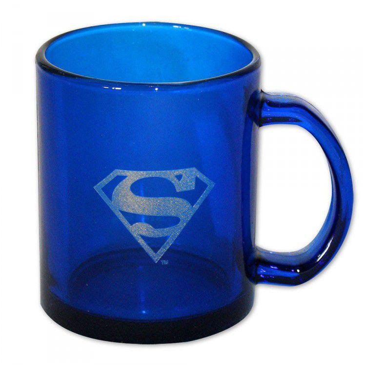 Caneca Translúcida Azul Super-Homem DC Universe