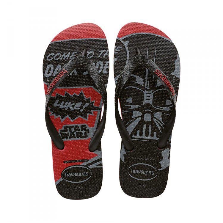 Sandálias Havaianas Star Wars - Darth Vader
