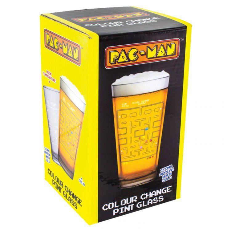 Copo de Vidro Térmico - Pac Man
