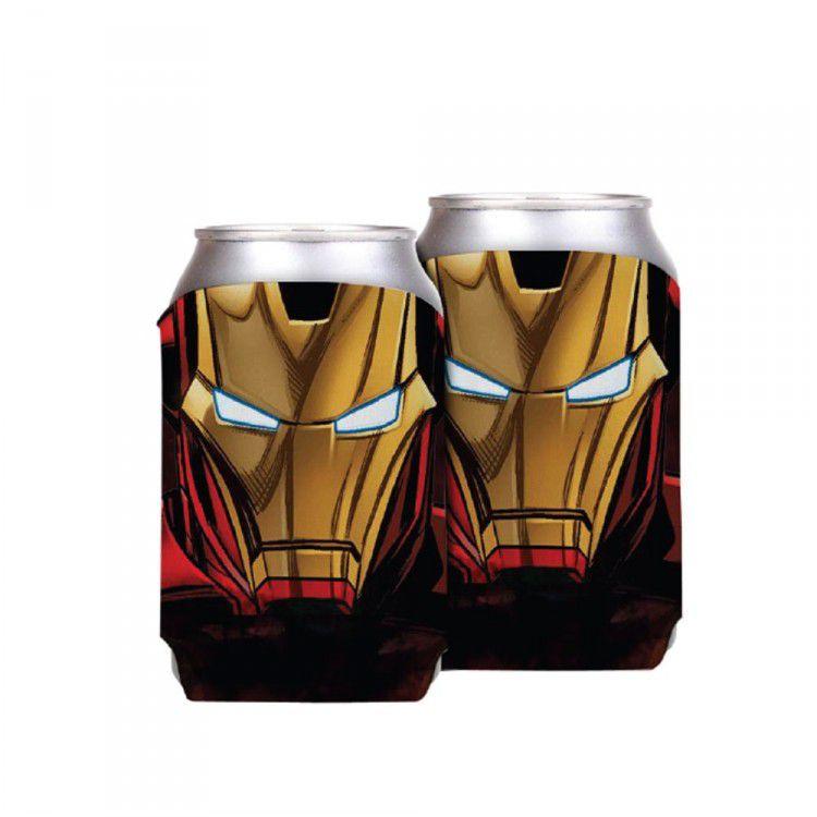 Porta Latas Marvel - Homem de Ferro