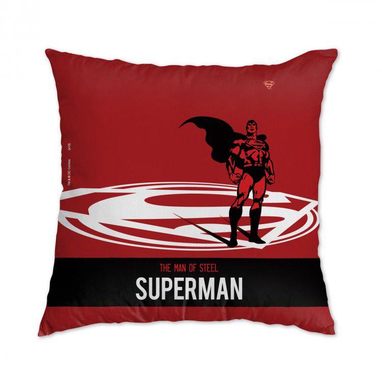 Capa de Almofada DC - Superman The Man of Steel