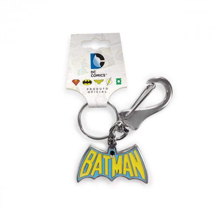 Chaveiro DC - Batman Logo 60's