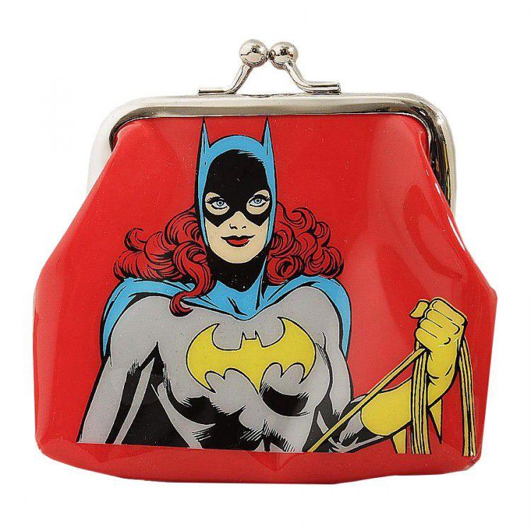 Porta Moedas DC - Batgirl Vermelho