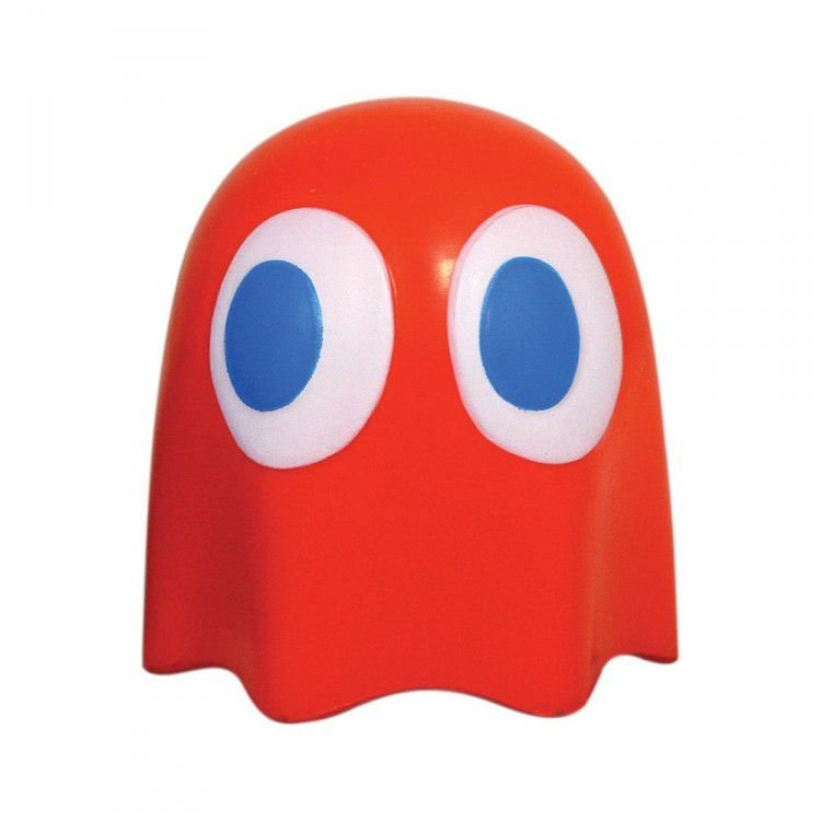 Stress Ball Pac Man Fantasma Vermelho