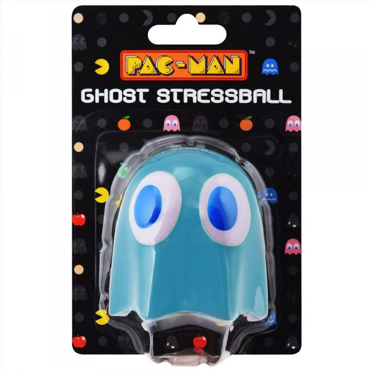 Stress Ball Pac Man Fantasma Azul