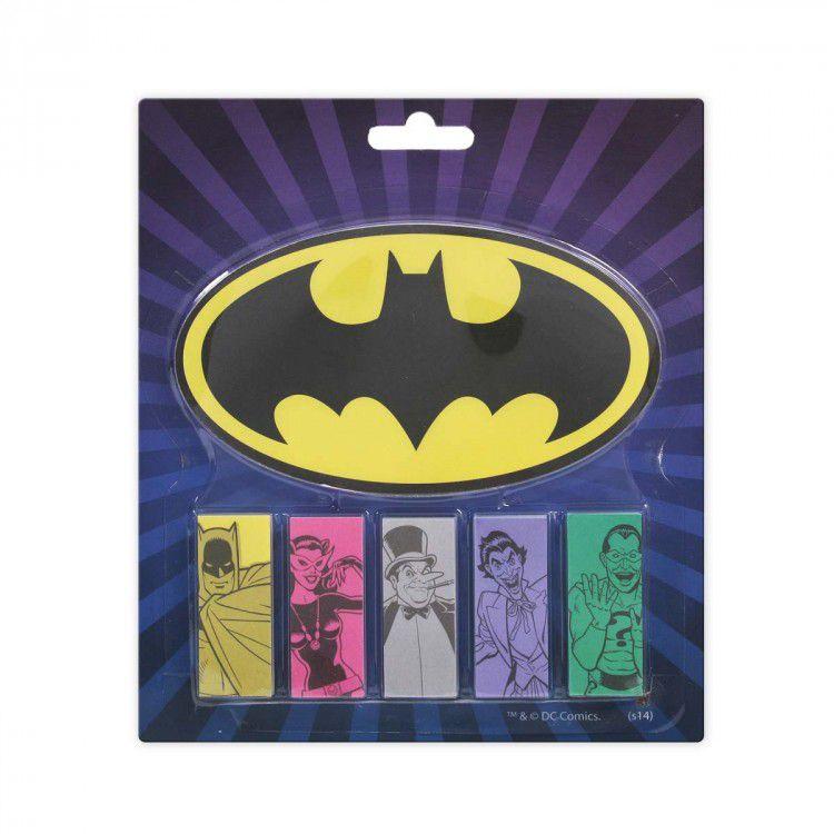 Bloco de Notas com Adesivo DC - Batman Personagens