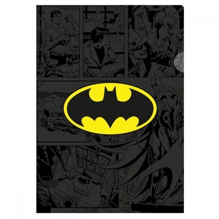 Pasta L Plástica Batman DC Comics