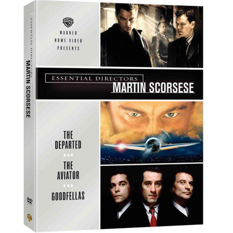 Box DVD Coleção Grandes Diretores - Martin Scorcese