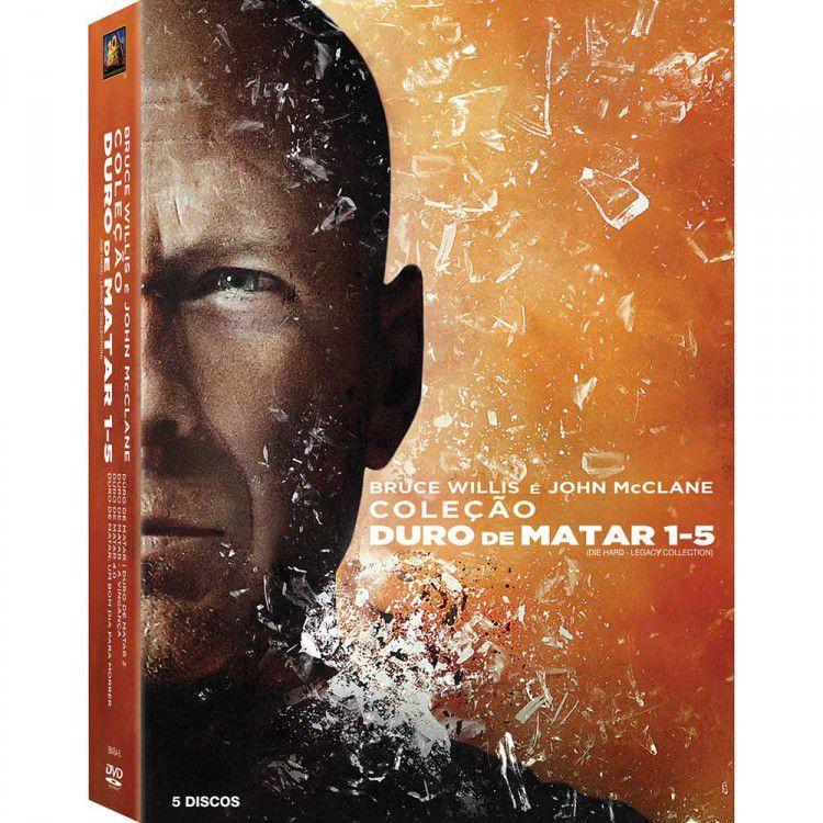 Box DVD Duro de Matar 1 a 5