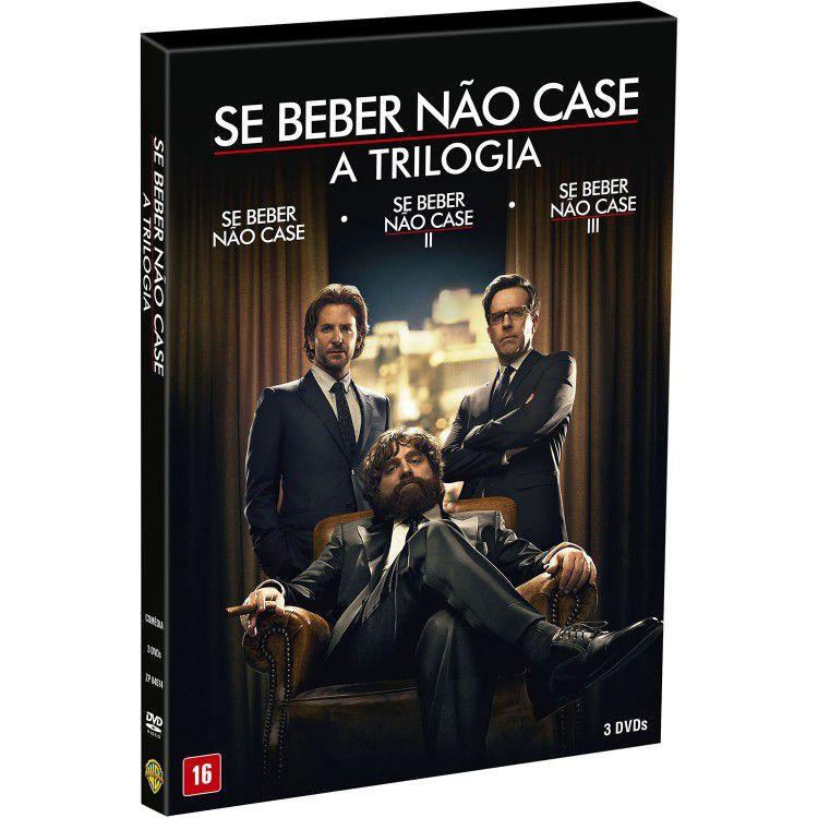 Box DVD Se Beber Não Case (Trilogia)