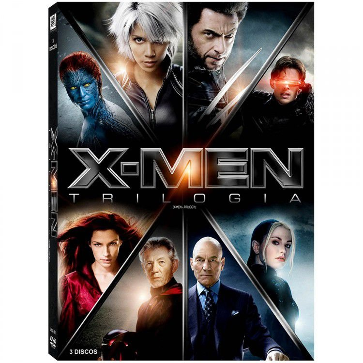 Box DVD X-Men Trilogia