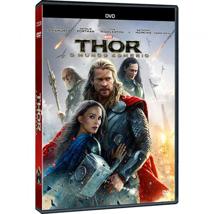 DVD Thor: O Mundo Sombrio