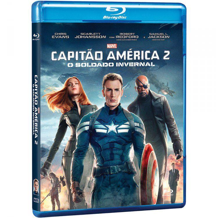 Blu Ray Capitão América 2: O Soldado Invernal