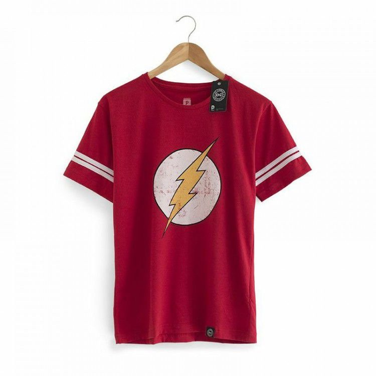 Camiseta The Flash Vintage - Coleção Sheldon The Big Bang Theory