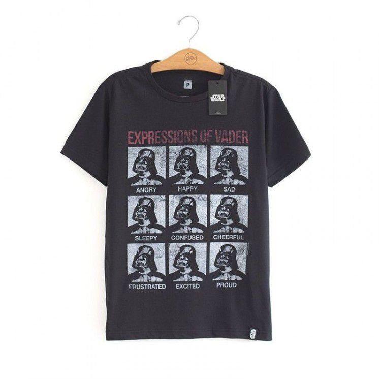 Camiseta Star Wars - Expressions of Vader