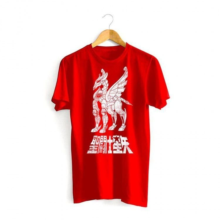 Camiseta Cavaleiros do Zodíaco - Armadura de Pegasus