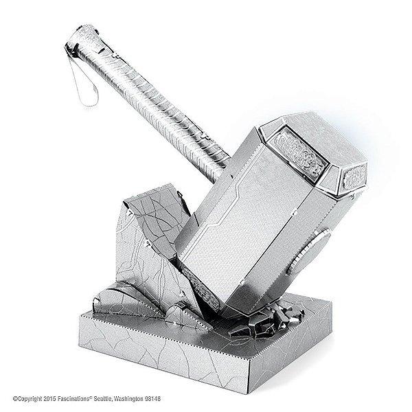 Mini Réplica de Montar Marvel Martelo do Thor