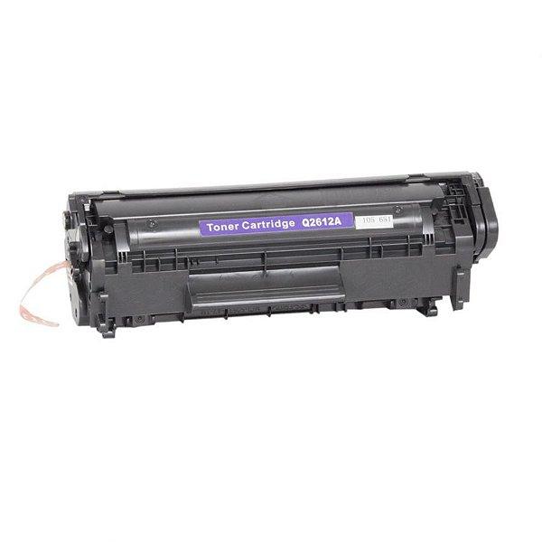 Toner HP Q2612A | 12A | 2612A | 2612 | 1010 | 1020 | 1022 | 3020 | 3050 | M1005 Compatível 2k