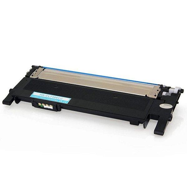 Toner Samsung C406 Ciano Premium Quality Compatível 1k