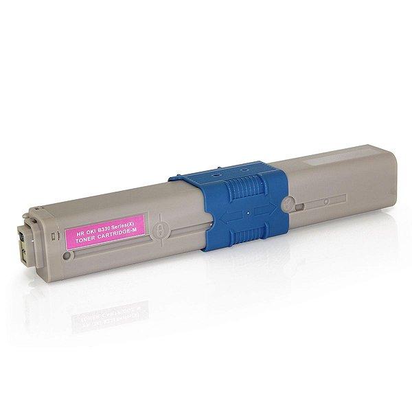 Toner Okidata 469705 469702 Magenta C310 MC351 C310N MC361DN C330 MC561 Premium Compatível 2k