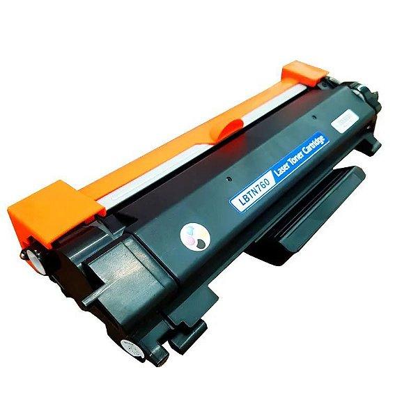 Toner Brother TN760 L2550dw L2370dw L2390dw L2395dw L2710dw L2750dw Compativel 3k