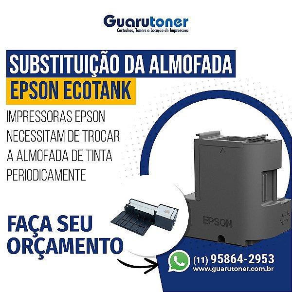 Troca da Almofada Epson Ecotank
