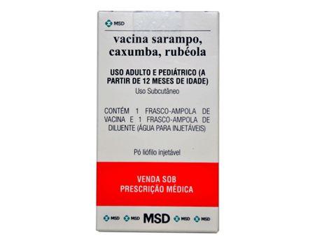 Vacina Tríplice Viral ( Sarampo, caxumba e rubéola)