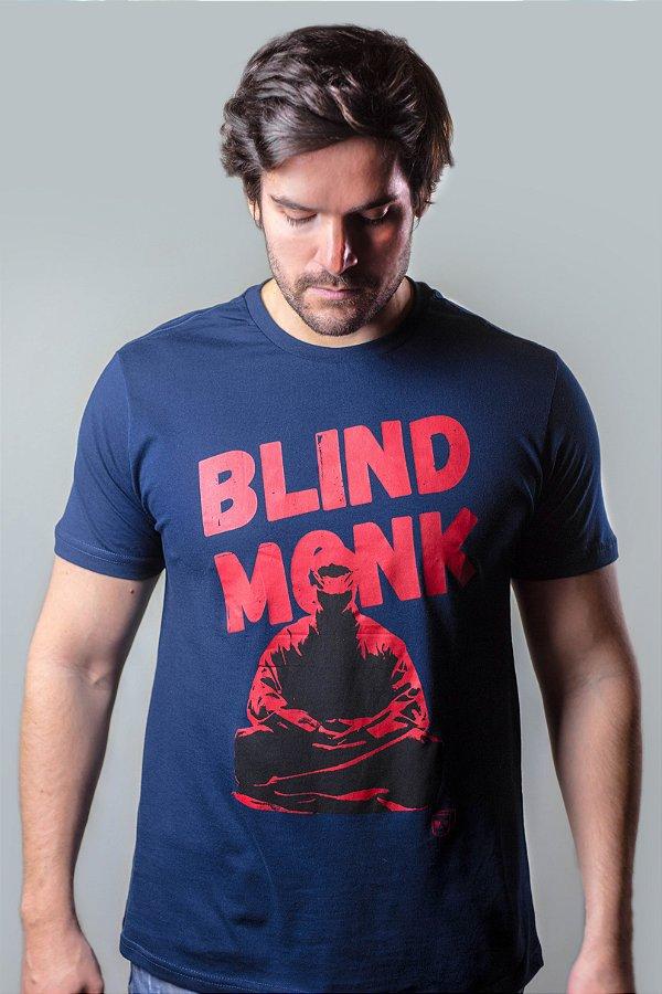 CAMISETA BLIND MONK MARINHO